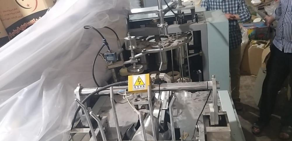 دستگاه تولید لیوان کاغذی دست دوم